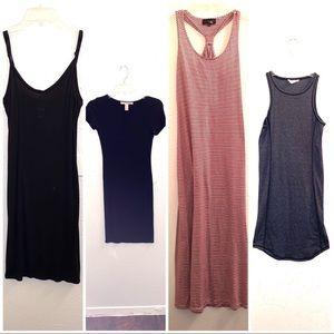 LOT 4 casual dresses midi tee shirt style